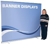 Retractable Banner - Jumbo Wide