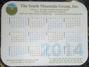 South Mountain Group Mouse Pads 2014